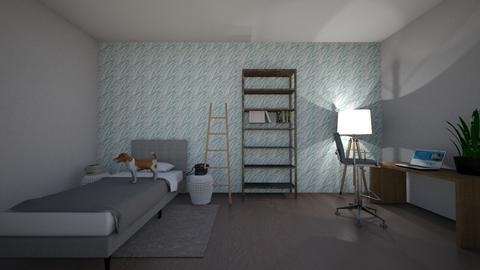 maybe my bedroom layout - Classic - Bedroom  - by elephantscanbepink