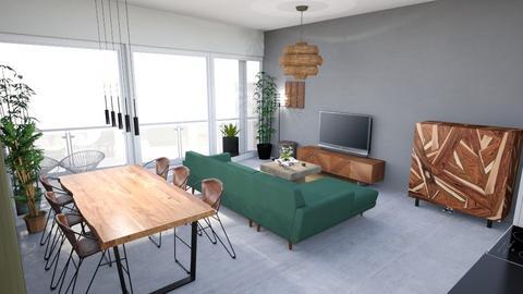 Tolhuiskade living cam2 - Living room  - by Patrickvh3