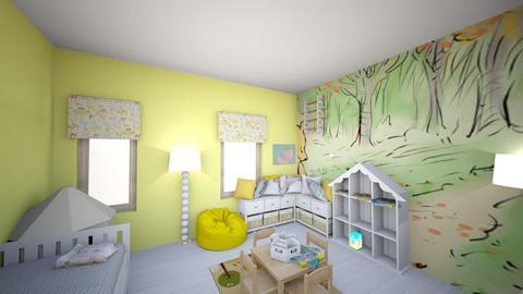 Interior design 2 - Kids room  - by shaunahurley