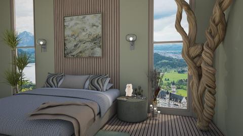 Sage - Bedroom  - by denizoden