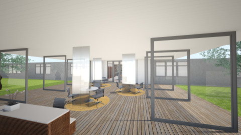 Harrison Lobby Leasing GP - by spicehousedesign