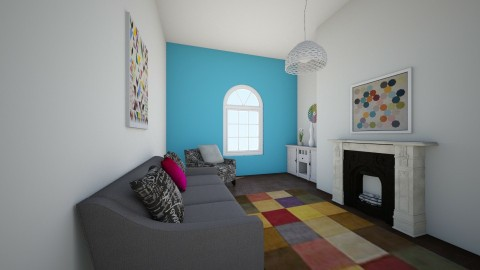 coloured cluster - Living room - by famasamusa