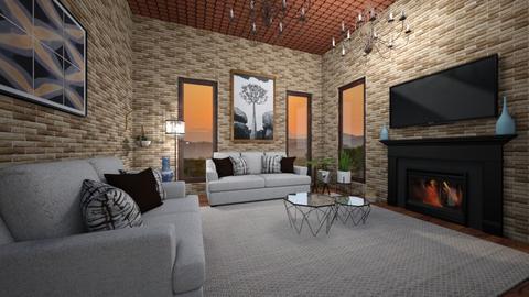 casa de campo - Living room  - by bruna matos