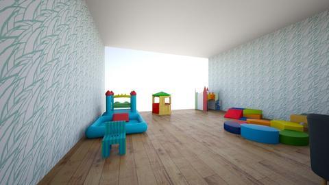 Sala 1  - Kids room  - by Marceespinosa