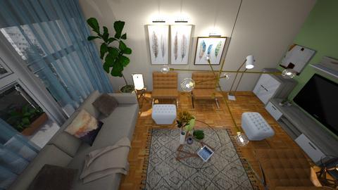 Home from above - Modern - Living room  - by Anseva