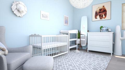 Nursery room REMIX - Kids room  - by tahliawaters