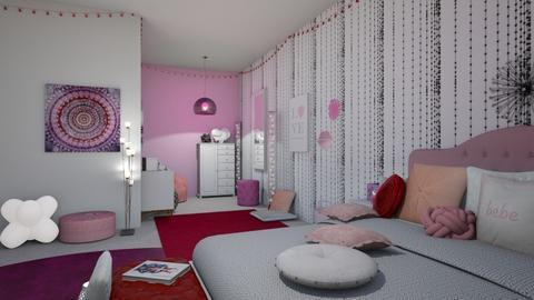 sleep over - Bedroom - by RoseGold417