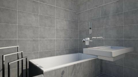 acabados1 - Minimal - Bathroom  - by lorenasuarez