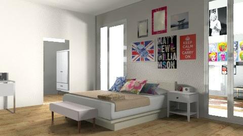 amazing bedroom woo - Retro - Bedroom  - by libs123