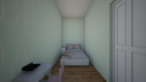 Lillys bedroom 01 - Modern - Kids room  - by angelrosefield