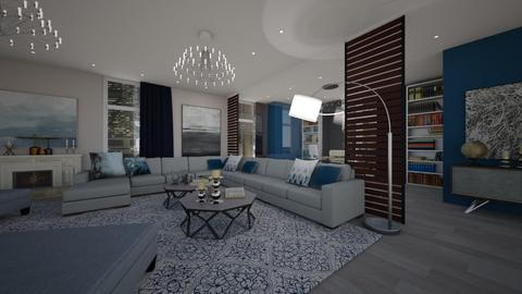 iron - Living room - by Grigoria Popli
