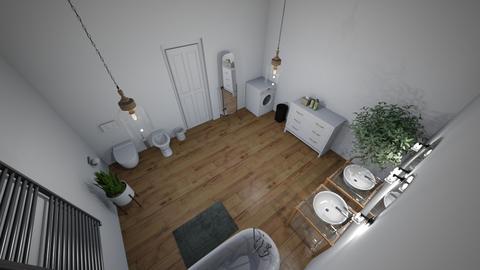 12 - Bathroom - by paulinakuciel