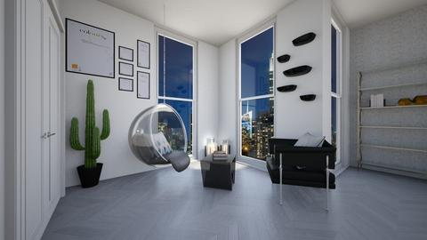 whites - Modern - Bedroom - by Jessi Bust