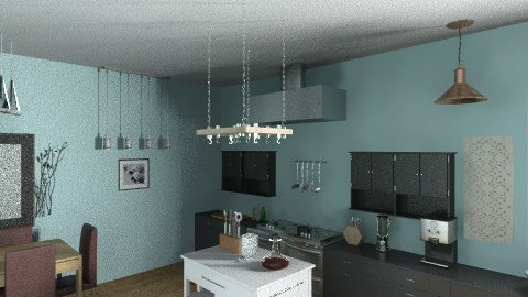 Modern Kitchen - Eclectic - Kitchen  - by nllanier15