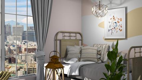 Aesthetic - Rustic - Bedroom  - by evabarrett