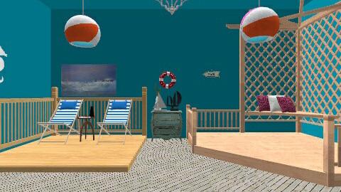 beach deck - by marlie1231