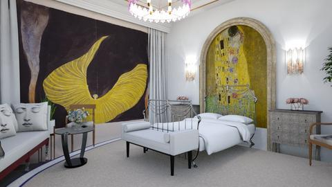Art Nouveau Bedroom - Bedroom  - by matina1976
