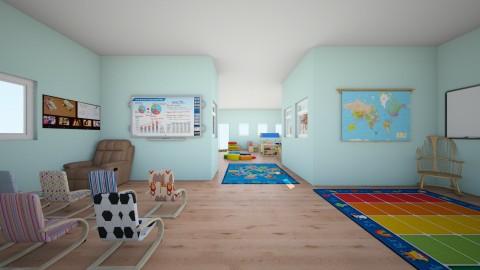 Sunny PreK - Modern - Kids room  - by mcv123me