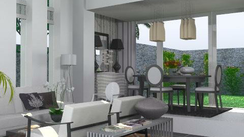 The Loft, - Modern - Living room  - by AlSudairy S