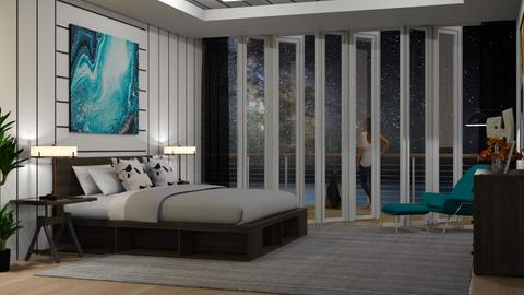 Starry night - Bedroom  - by Lizzy0715