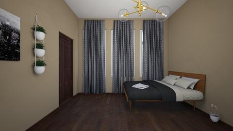 interiordesign4_6project - Modern - Bedroom  - by liammstanleyy