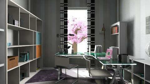 Office first floor - Eclectic - Office  - by ketrinka