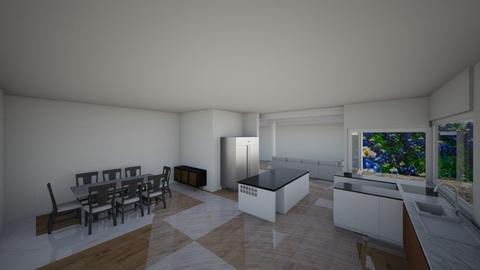kitchen 6 - Eclectic - Kitchen  - by marjantam