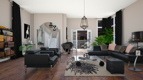 Love The Way You Live - Modern - Living room  - by janip