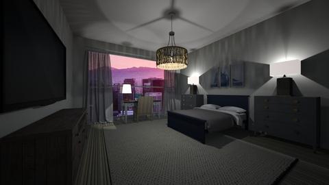 A San Francisco Sunset - Bedroom  - by Mxtcha_fox