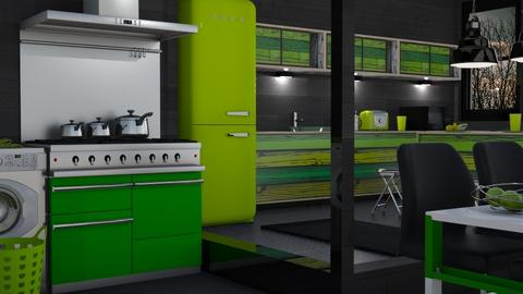 HULK'S KITCHEN - by Var