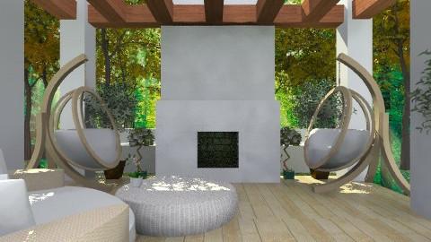 fun hang out - Modern - Garden  - by emily55