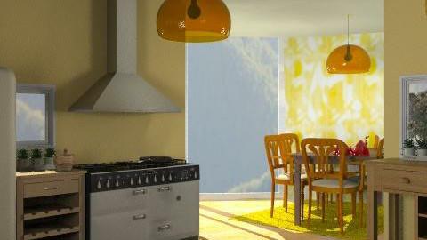 Kitchen 1 - Eclectic - Kitchen  - by natalia20po