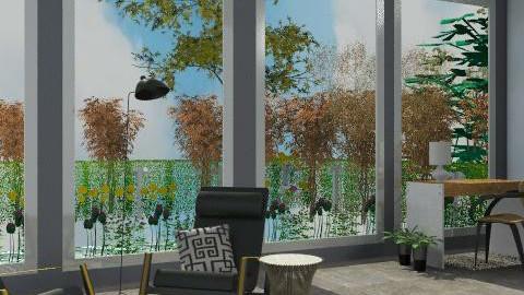 big trees  w/water scenery 1.2 - Minimal - Living room  - by bralston