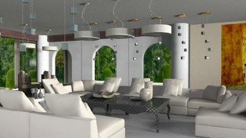 30'LOUNGE - Eclectic - Living room  - by calu13