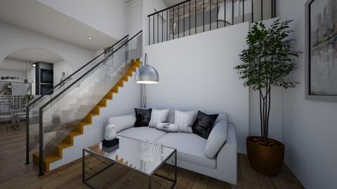 Modern Loft - Modern - by haileymilby