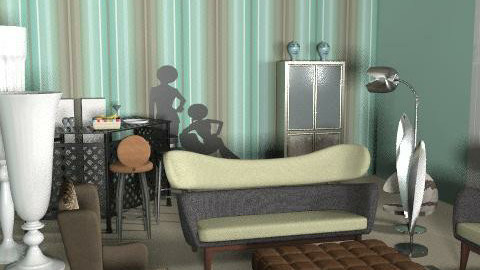 latest 2 - Retro - Living room  - by FRANKHAM