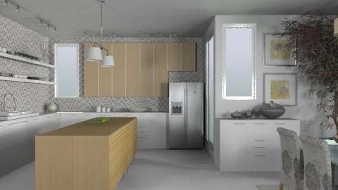 Random Spaces - Urban Kitchen2 - Modern - Kitchen  - by LizyD