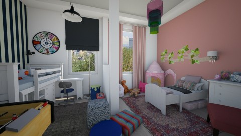 Kids - Kids room  - by Tuija