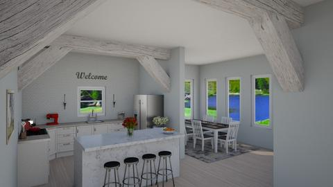 Modern Farmhouse Kitchen - Kitchen  - by LSDESIGNS