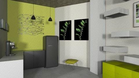 home office 2 - Modern - Office - by alepa
