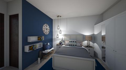 master bed option 2 - Bedroom  - by Naf_f