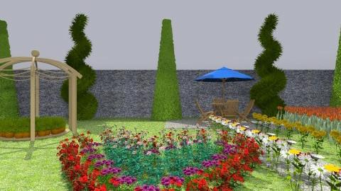 garden of love - Modern - Garden  - by KEJSI TOLA