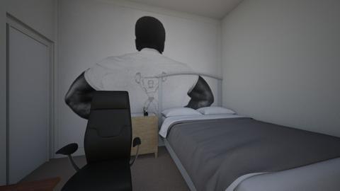 My bedroom - Bedroom  - by OrionH