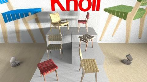 INK Exam  KNOLL - Minimal - Kids room  - by chenedippenaar