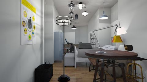 narrow room  - Classic - Bedroom - by AngieDrws