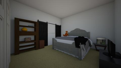 Original Bedroom - Modern - Bedroom - by Ryleigh_HomeInteriors