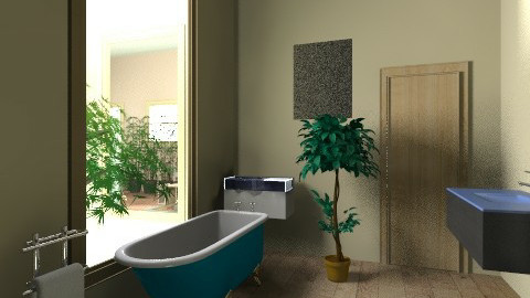 0207 - Country - Bathroom  - by zeland