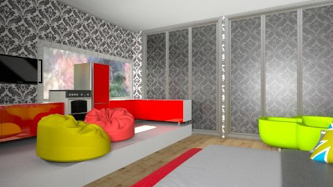 Abrakadabra - Bedroom - by Anna_tchaikvskaja