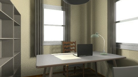 office 5 - Eclectic - Office  - by vickybunczk