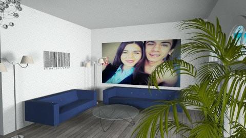 V - Modern - Living room - by Stanojkovic